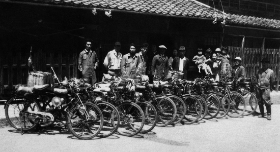 First Versions: Honda (motorcycles): 1st model ever